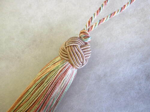 8cm loop Turks Knot Key Tassel Traditional Turkish Borla Prince Tassel 10cm