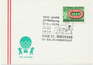 A 5360 St. Wolfgang en Salzkammergut 1000 años St. Wolfgang 976-1976