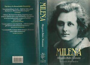 MILENA-by-Margarete-Buber-Neumann-1989-Hc-Dj-FRANZ-KAFKA-039-s-lover-MILENA-JESENSKA
