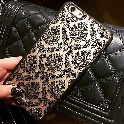 Ultra-Thin Damask Vintage Pattern Hard Case Cover For Apple iPhone 5 5S 6/6 Plus