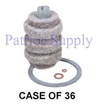 1A-30 CASE OF 36 PIECES GENERAL FUEL OIL FILTER REFILL