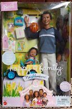 "Alan & Ryan Happy Family Barbie Doll Ken 1st Birthday African American AA DENT"""