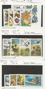 Turks-Caicos-Postage-Stamp-507-515-522-525-Mint-NH-1982-JFZ