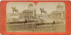 Londra London UK Foto Ziegler Parigi Stereo Vintage Albumina Ca 1870