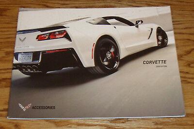 Original 2016 Chevrolet Camaro Accessories Sales Brochure 16 Chevy