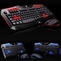 Gaming Wireless 2.4G Keyboard Mouse Set computer Multimedia Gamer Tastatur Maus