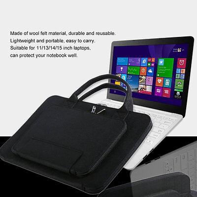 Büro & Schreibwaren PüNktlich Felt Laptop Bag Notebook Briefcase 11/13/14/15 Inch Waterproof Bag Case #f