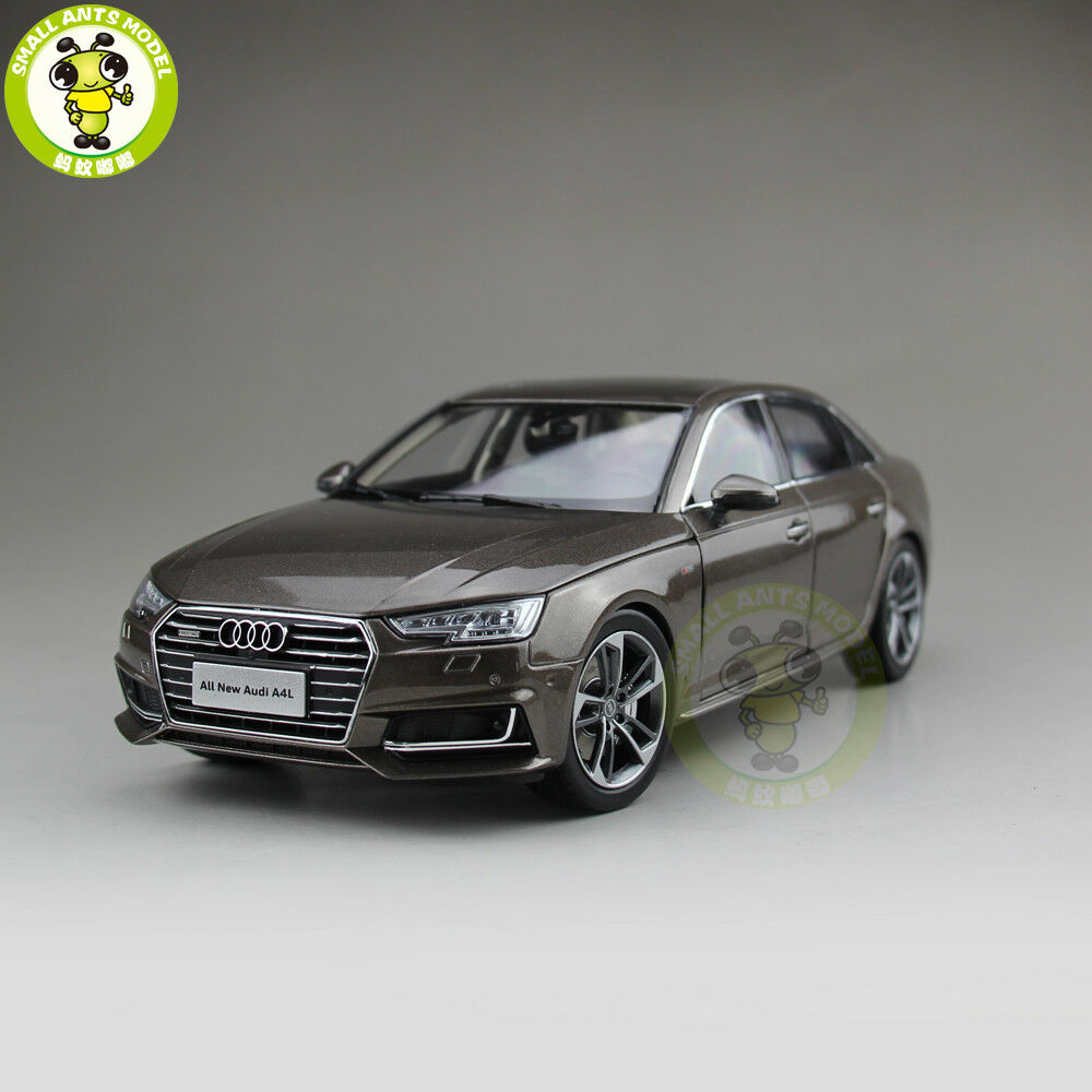 1 18 Audi A4L A4 Diecast Metal Car Model Toy Boy Girl Gift Collection Brown