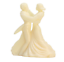 Miniature-Plastic-Die-cast-Dancing-Couple-1-1-4-034-Tall-Set-of-3-203-3-043