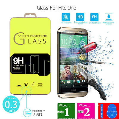 Genuine Explosion Proof Tempered Glass Film for HTC Phones Screen Protector