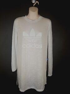 Camiseta para mujer Trefoil 10 o Adidas Blanco Tama Verano rOw4rq