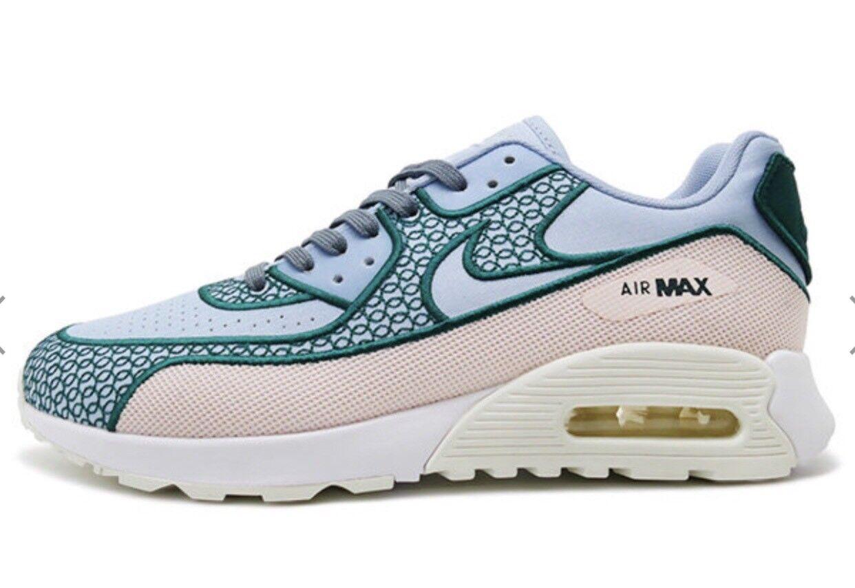 Nike femmes Air Max 90 Ultra 2.0 SI Sneaker Running Shoe Bleu rose New 5 11