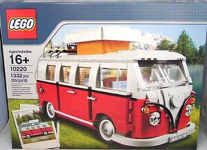 lego creator 10220 volkswagen t1 pulmino vw bulli bus in. Black Bedroom Furniture Sets. Home Design Ideas