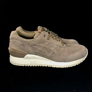 Image Is Loading Asics Gel Respector Taupe Grey Gray Tan Brown