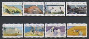 Isle-von-Mann-2007-Aquarelle-von-Normal-Sayle-Set-MNH-Sg-1355-62