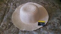 Off White Bucket Sun Hat Unisex Casual Sun Hat Off White Sun Fedora Hat S/m