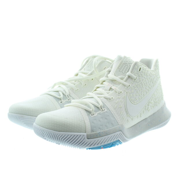 1389fd58e7e Nike 852395 Mens Zoom Kyrie 3 Mid Top Basketball Athletic Shoes Sneakers