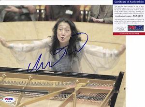 MITSUKO-UCHIDA-LEGENDARY-PIANIST-SIGNED-AUTOGRAPH-8X10-PHOTO-PSA-DNA-COA-1
