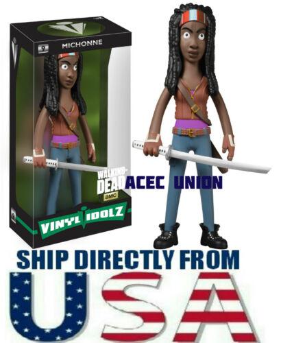 """SELLER U.S.A Vinyl Idolz Walking Dead Michonne 8/"""" Figure BRAND NEW IN BOX"""