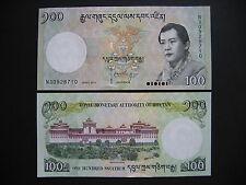 BHUTAN  100 Ngultrum 2015  (Pnew)  UNC