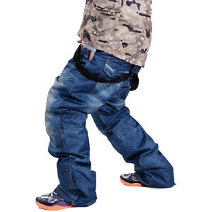 Pasnw02 P Donna Pants Jeans Pantaloni Ski Unisex Neve Uomo Denim Waterproof Sci ZwvwnP1Tq