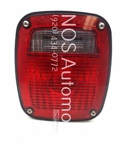NOS New OEM 1995-1997 Ford Contour Right Tail Lamp Light Tail Lamp