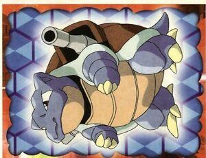 Pokémon POKEMON STICKER ENGLISH CARD 50X50 1998 NORMAL N°    9 BLASTOISE TORTANK