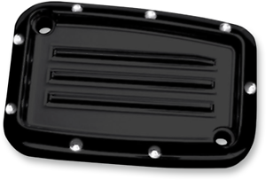 Covingtons Clutch Master Cylinder Cover Black Dimpled C1178-B