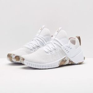 492449fa8ebb Nike Free X Metcon Cross Training Shoes Weightlifting Gym White-Sand ...