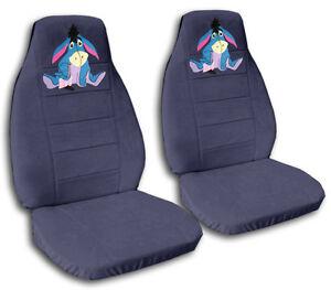 Cool Details About Cute Set Eeyore Front Car Seat Covers Blue Gray More Colorsrear Bench Avbl Machost Co Dining Chair Design Ideas Machostcouk
