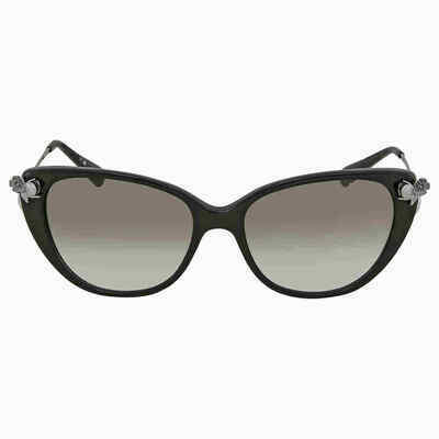 Coach Clear Green Gradient Cat Eye Ladies Sunglasses HC8242B 50028E 55