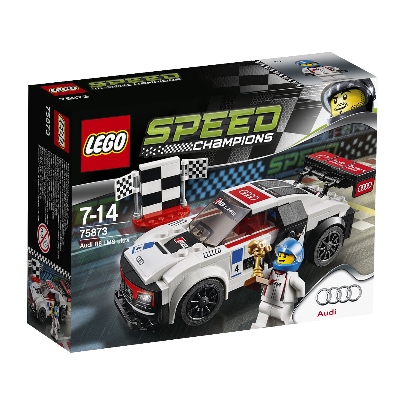 LEGO ® Speed Champions 75873 AUDI r8 LMS Ultra NUOVO OVP NEW MISB NRFB
