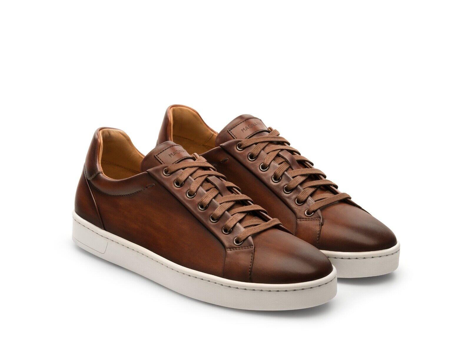325 Magnanni ELONSO lo Cognac Marrón Cuero Tenis Zapatos 9