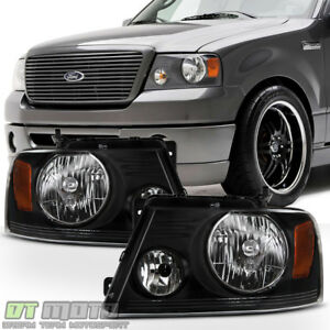 Details About Harley Davidson Style 2004 2008 Ford F150 06 08 Mark Lt Headlights Headlamps