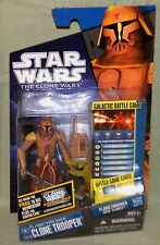 """Star Wars FLAME THROWER CLONE CW26 2011 Animated Clone Wars 3.75"""" Action Figure"""