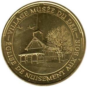 51-1810 - JETON TOURISTIQUE MDP - Village Musée du Der - Eglise - 2014.2
