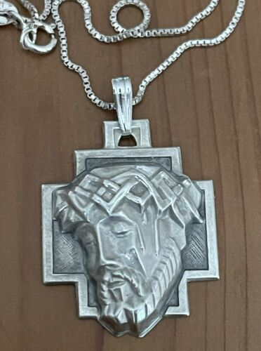 Vintage TCSS Sterling Crown of Thorns Agony Of Chr