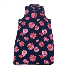 NWT-Mud-Pie-Navy-Floral-Shift-Dress-Medium