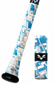 VULCAN-ADVANCED-POLYMER-BAT-GRIPS-ULTRALIGHT-0-50-MM-GLACIER-FREEZE-NEW
