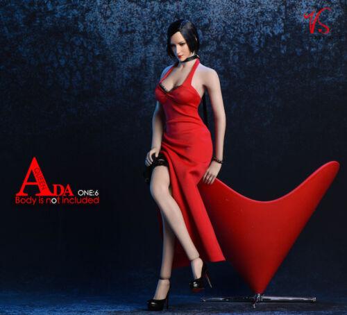 "1//6 Ada Wong resident evil Robe Chaussures Accessoires Set pour 12/"" PHICEN Figure USA"