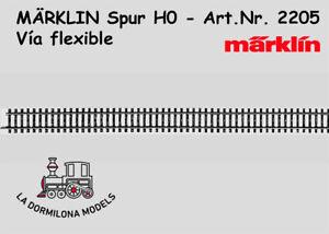 MARKLIN-2205-H0-Via-flexible-Longitud-5-x-1-1-900-mm-NUEVA