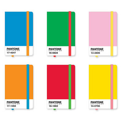 NEW Pantone icon notebooks by Until