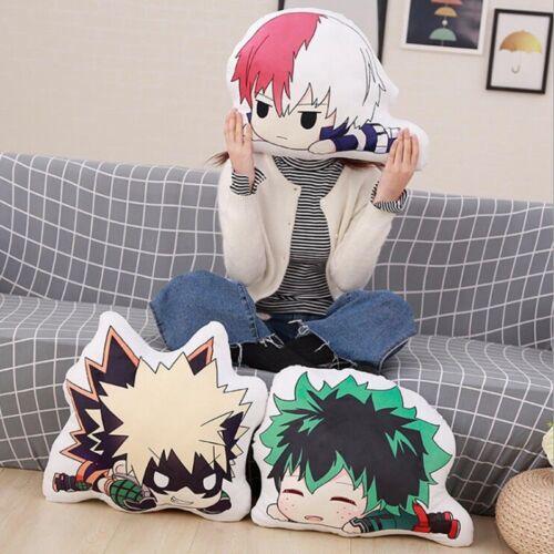 My Boku no Hero Academia Throw Pillow Midoriya Izuku Bakugou Katsuki Plush Charm