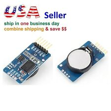 Ds3231 At24c32 IIC Precision Real Time Clock RTC Memory Module for Arduino