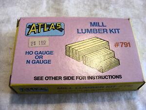 Vintage-HO-Scale-Atlas-791-Mill-Lumber-Kit
