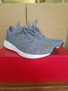 New-Balance-Fresh-Foam-Cruz-Athletic-Sneakers-Shoes-Grey-White-Men-039-s-Sz-9-5-D-US