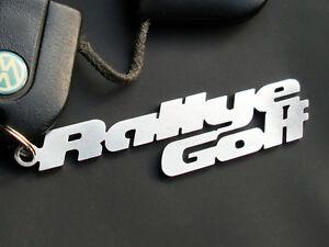 schl sselanh nger rallye golf 2 g60 vr6 emblem vw turbo. Black Bedroom Furniture Sets. Home Design Ideas