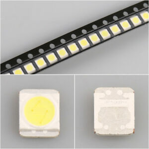 50Pcs-3528-2835-3V-280MA-1W-Cold-White-LED-Diodes-for-LG-LCD-TV-Backlight-Repair