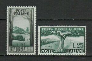 S33667 Italy MNH 1951 Trees 2v