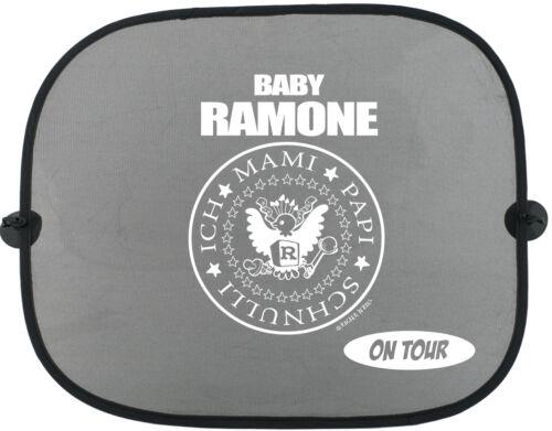 BABY RAMONE ON TOUR Kinder Auto Sonnenschutz